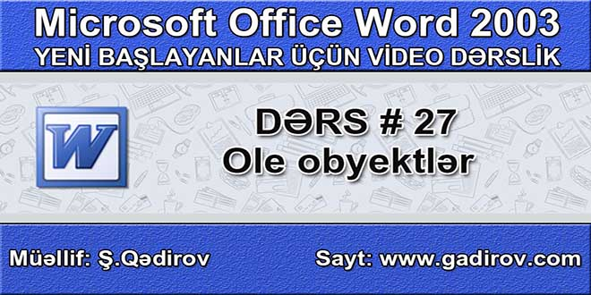 Ole Obyektlər