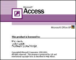 Microsoft Access proqramina giris