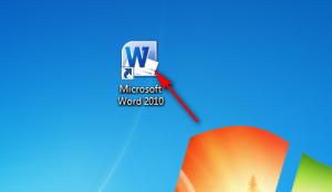 Word 2010 proqramına giriş,Microsoft Word 2010