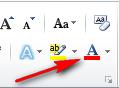 Word 2010 proqramında mətnin xarici görünüşünün dəyişdirilməsi