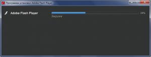 Adobe Flash Player proqramının yüklənməsi