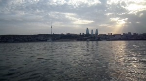 Dənizdən Bakının möhtəşəm görüntüsü