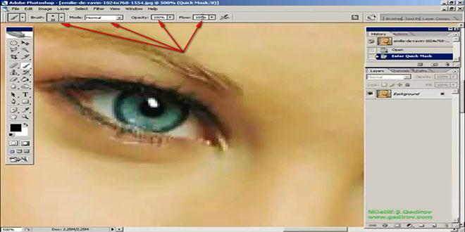 Göz rəngini dəyişmək 2