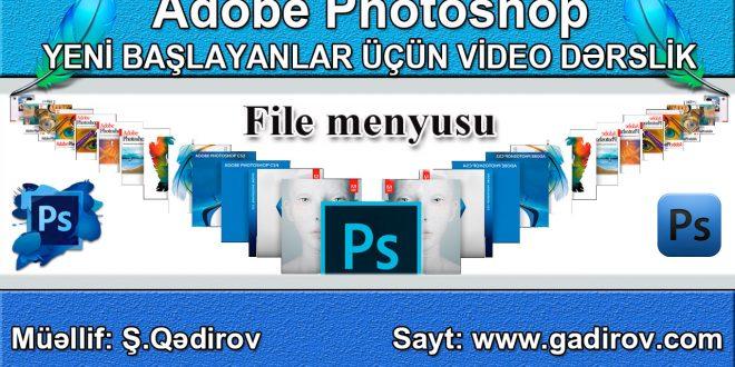 File menyusu