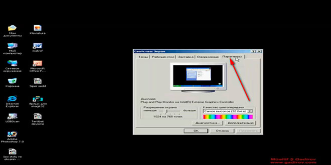 Ekran parametri
