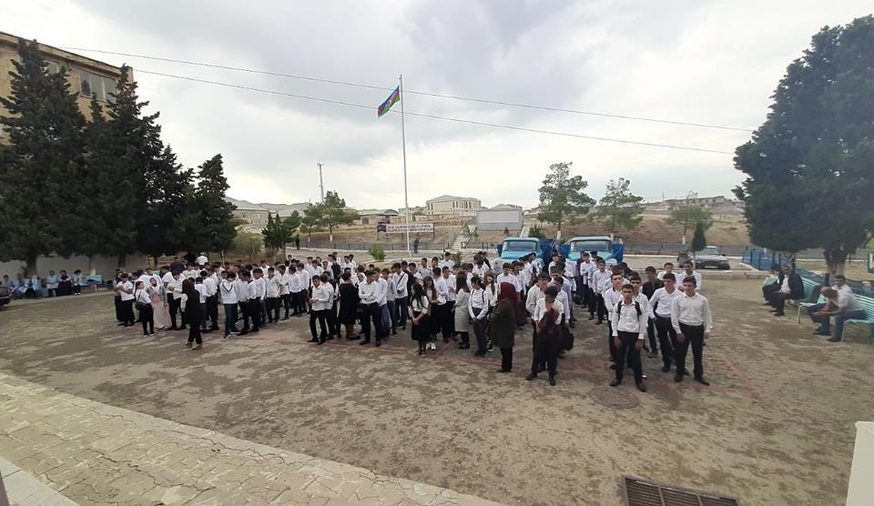 8 №-li Bakı Peşə Liseyində Bilik günü qeyd edildi