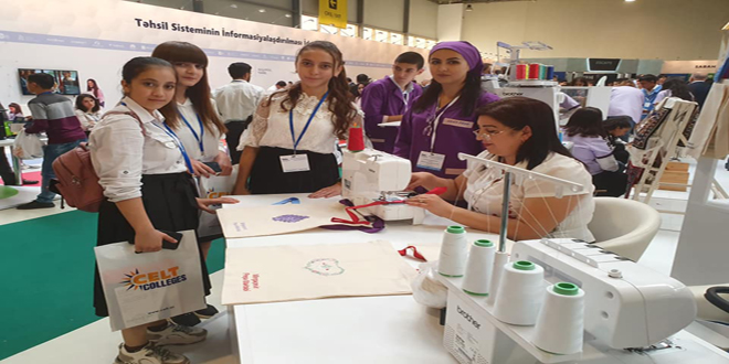 8 №-li Bakı Peşə Liseyinin kollektivi 13-cü Azərbaycan Beynəlxalq Təhsil Sərgisində iştirak etmişdir.
