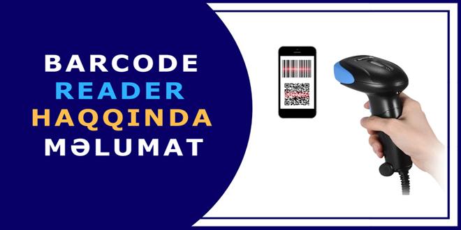 Barcode Reader haqqında məlumat