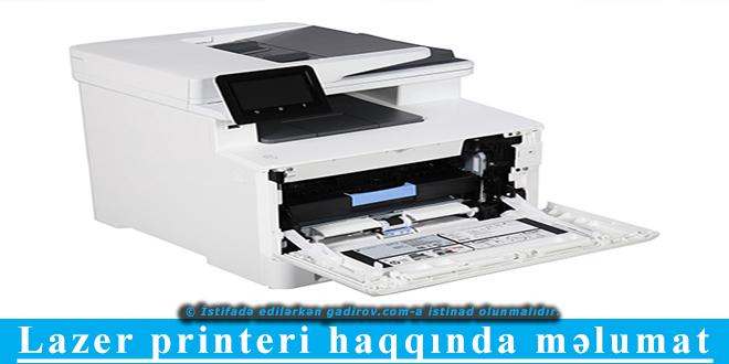 Lazer printeri haqqında məlumat