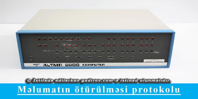 Altair 8800- ilk mikrokompüter