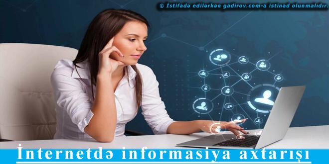 İnternetdə informasiya axtarışı