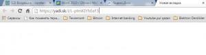 Yandex Diskdə fayl üçün linkin aktivləşdirilməsi