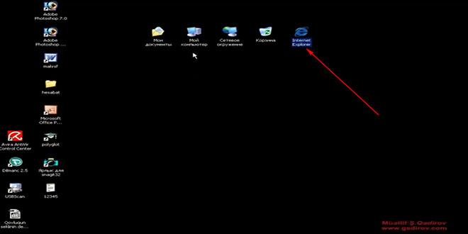 Windows Xp-də standart elementlər