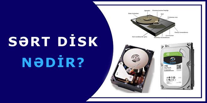 Sərt disk nədir?