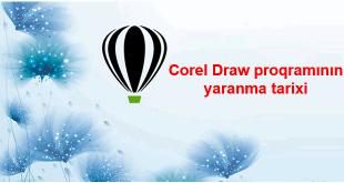 Corel Draw proqramının yaranma tarixi