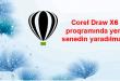 Corel Draw X6 proqramında yeni sənədin yaradılması