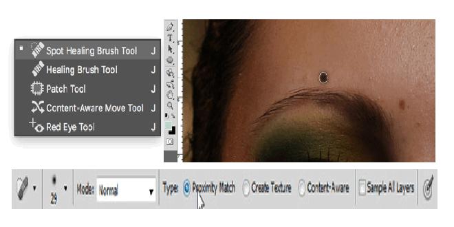 Görüntü hissələrinin retuşu