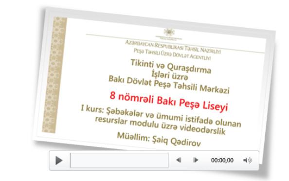 Təqdimata video faylların əlavə olunması