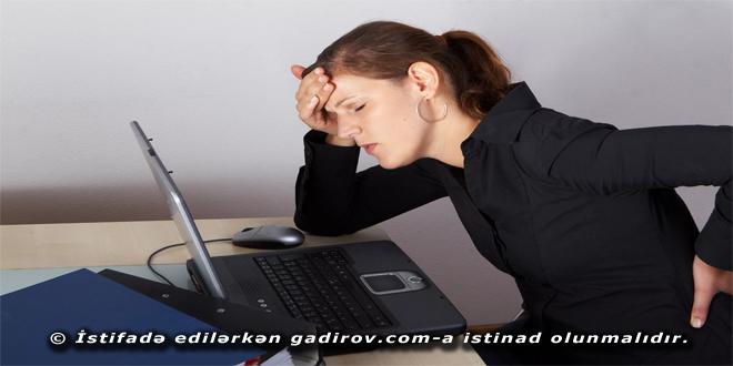 Kompüterin insan sağlamlığına təsiri