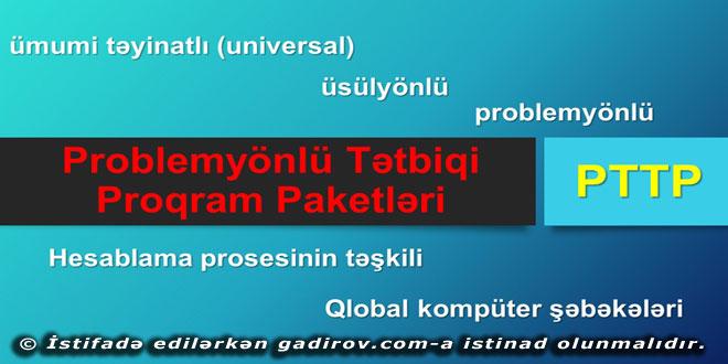 Problemyönlü Tətbiqi proqram paketləri