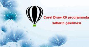 Corel Draw proqramında xətlərin çəkilməsi