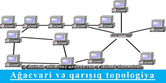 Ağacvari və qarışıq topologiya
