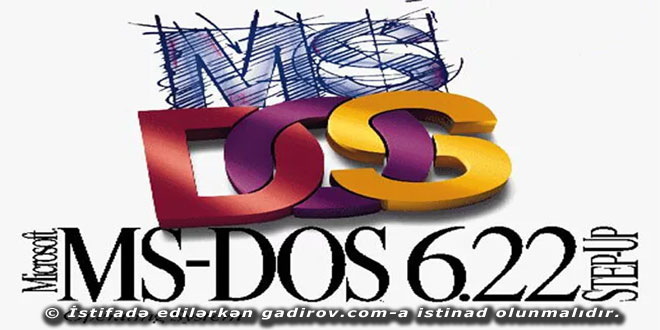 MS-DOS əməliyyat sistemi və onun versiyaları