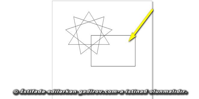 Corel Draw proqramında obyektin rənglə doldurulması