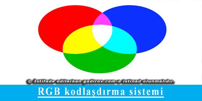 RGB kodlaşdırma sistemi