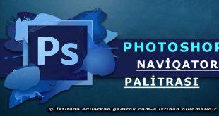 Adobe Photoshop -Naviqator palitrası