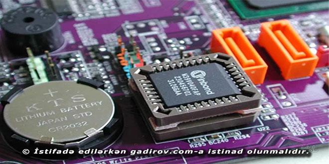 BIOS-un yenilənməsi haqqında
